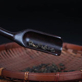 Tea ceremony set - ebony 6 gentlemen & cup-mats_