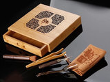 Tea drawer - carved bamboo_