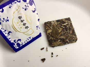 Fu Ding  white tea biscuit 7g