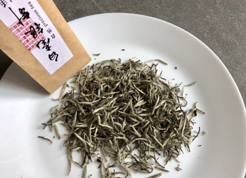 Exclusive Bai Hao Yin Zhen (silver needles) white tea 20g