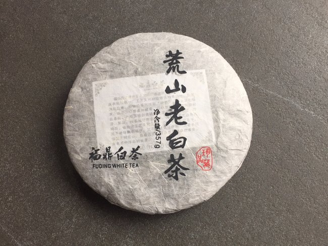 Fu Ding - old wild mountain white tea pancake 357g